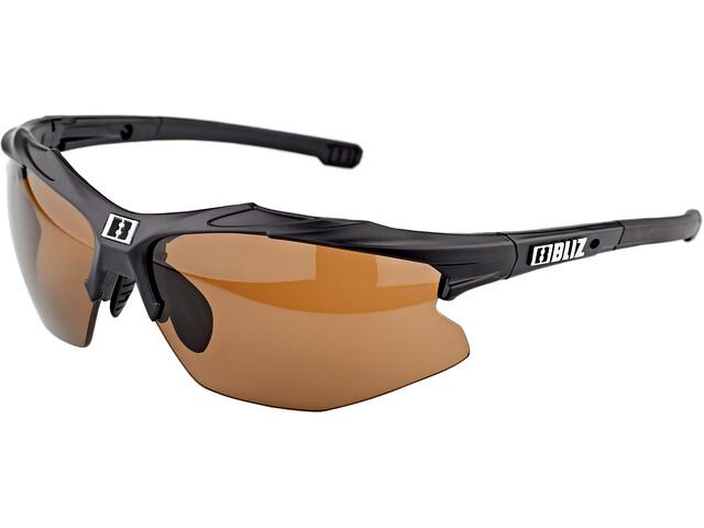 Bliz Hybrid M15 Glasses matt black/pol brown